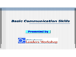 Basic Communication Skills PPT