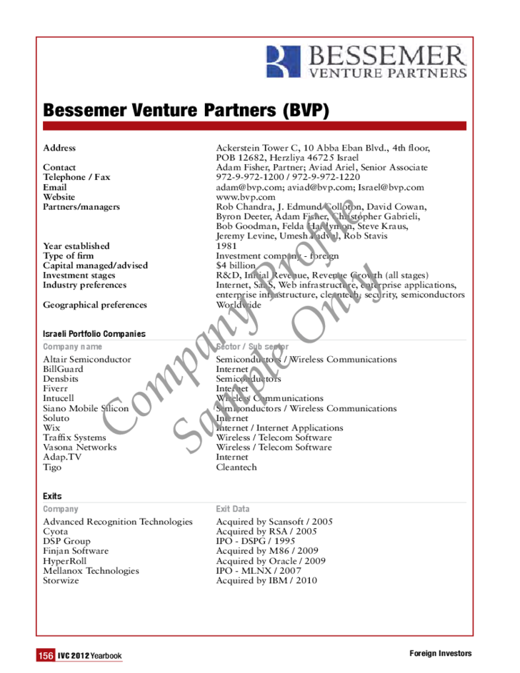 1 Basic Company Profile Sample  Brief Company Profile Sample