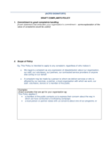 Draft Complaint Policy Free Download