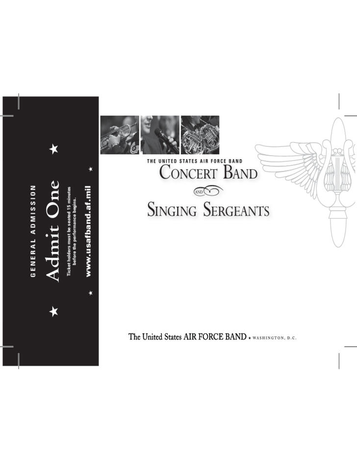 Concert band ticket template free download for Concert ticket template free download