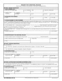 Request for Conditional Release Form Free Download