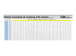 Steel Conduit and Tubing Fill Chart Template