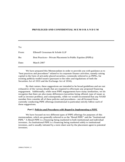 Privileged and Confidential Memorandum Free Download