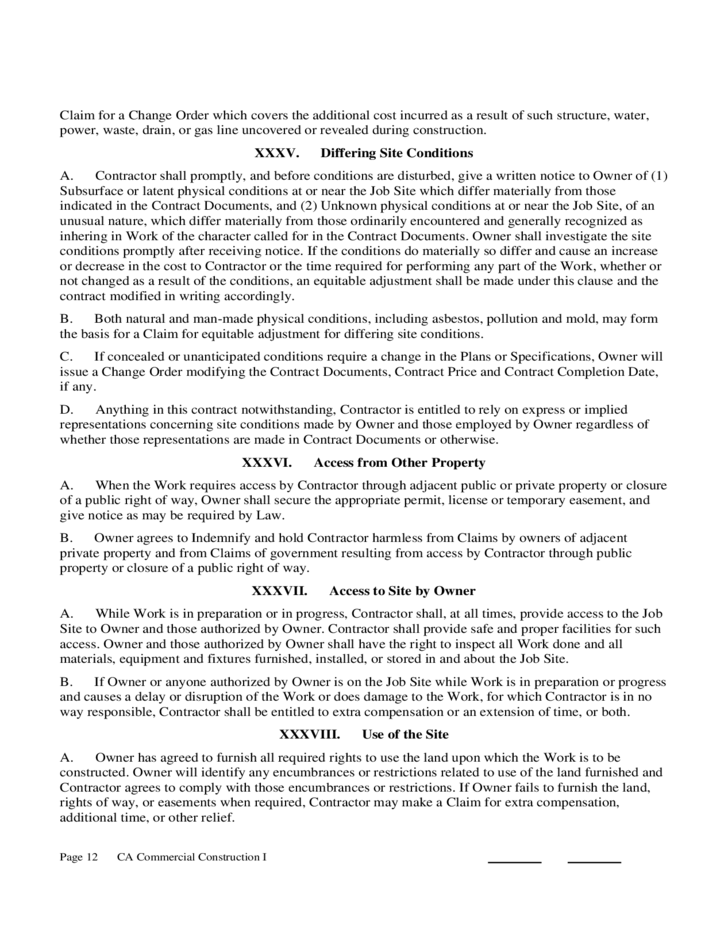 Construction Contract Form - California Free Download on change work order form, change order template, change order log, change order g701 bear claw, contracts for contractors, change order sheet, change print order form,