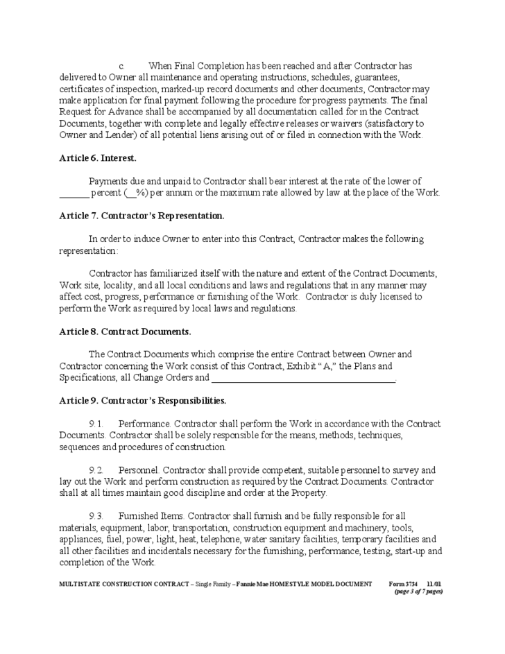 Doc800997 Construction Contract Template 1000 ideas about – Free Construction Contracts Templates