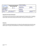 Sample Construction Request for Information Free Download