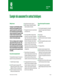 Example Risk Assessment for Contract Bricklayers - HSE for Northern Ireland Free Download