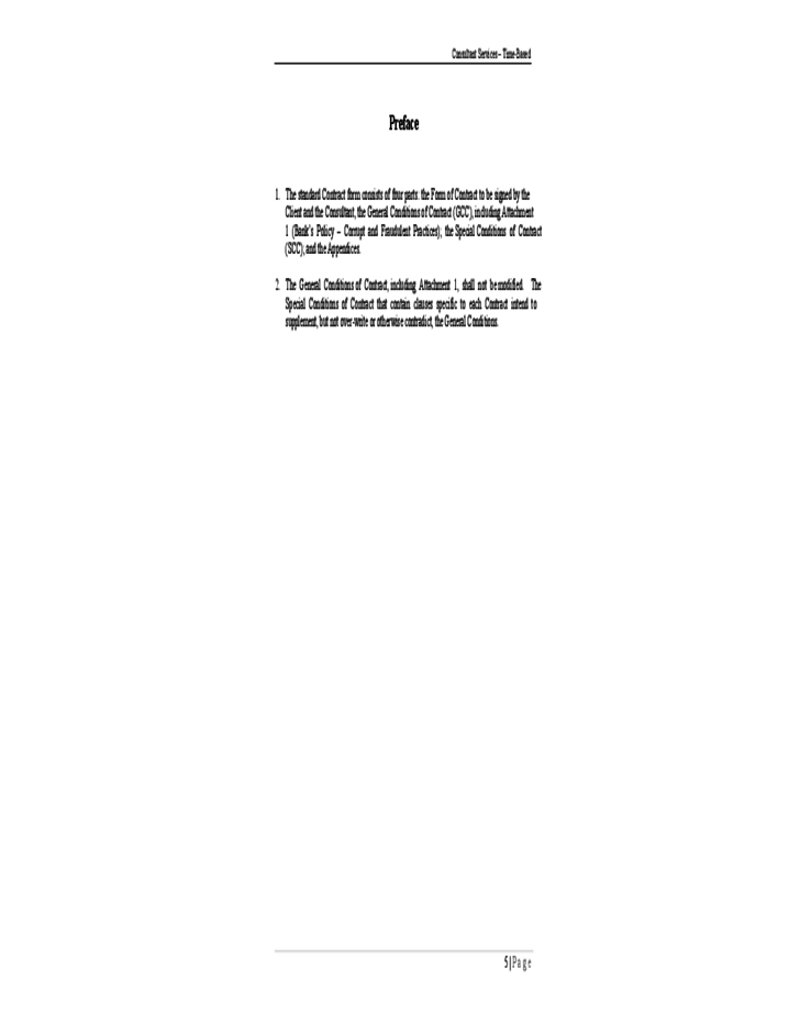 standard consulting agreement template - harmonized standard form of contract free download