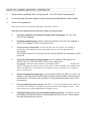 Contract Amendment Guidelines Free Download