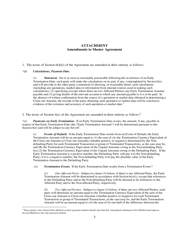 Contract Amendment Sample Free Download