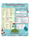 Handy Cooking Conversion Chart Free Download