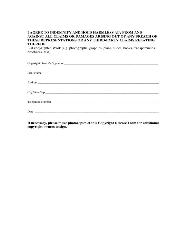 Copyright Release Form Pictures to Pin PinsDaddy – Copyright Release Form