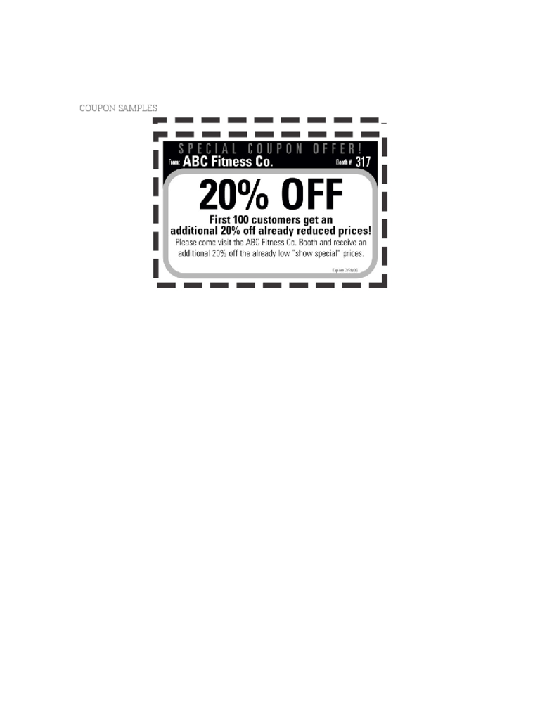 coupon template for pages - coupon template 5 free templates in pdf word excel