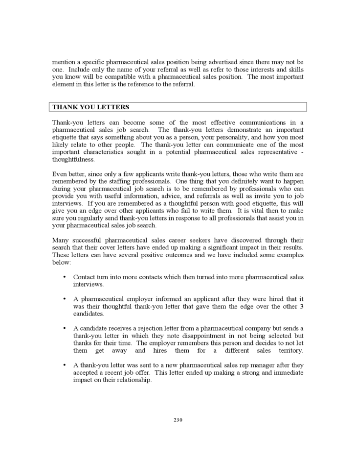 Pharmaceutical Sales cover letter 2