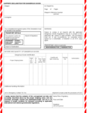 Shipper's Application for Dangerous Goods Free Download