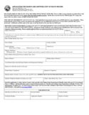 Application for Search and Certified Copy of Death Record - Indiana Free Download