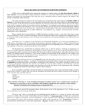 Declaration of Interests for WHO Experts Free Download