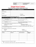Target Store Recruitment Application Form