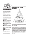 Diabetes Food Guide Pyramid Free Download