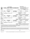 Authorization for Direct Deposit - Minnesota Free Download