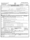Application for Disability Parking Certificate - Minnesota Free Download
