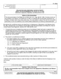 FL-130(A) Declaration and Conditional Waiver of Rights