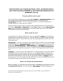 Sample Answer to Petition for Dissolution of Marriage - Florida Free Download
