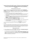 Petition for Simplifies Dissolution of Marriage - Florida Free Download