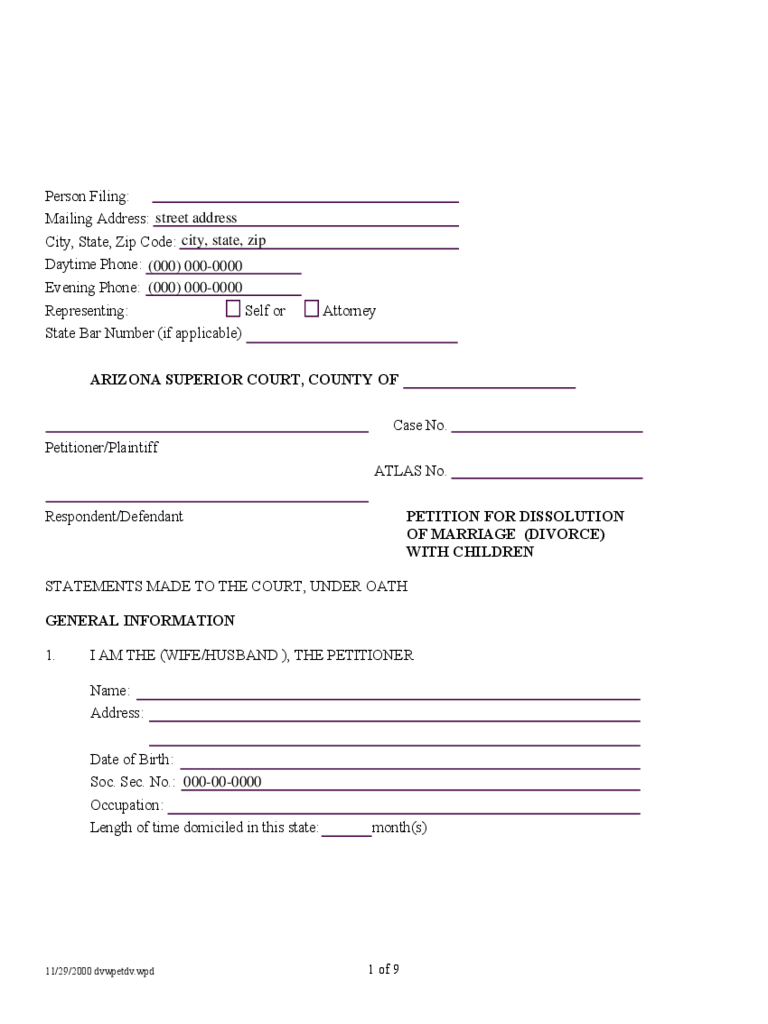 Divorce Agreement Form 21 Free Templates In Pdf Word Excel Download