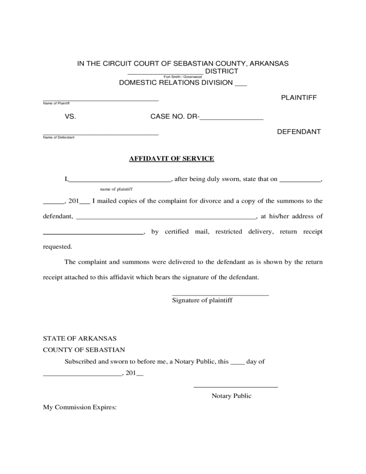 arkansas uncontested divorce forms free Divorce Information and Forms - Arkansas Free Download