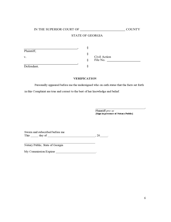 Invaluable image for free printable uncontested divorce forms georgia