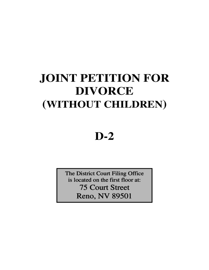What is a joint divorce