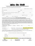 Professional Disc Jockey and Karaoke Services Contract Agreement Free Download