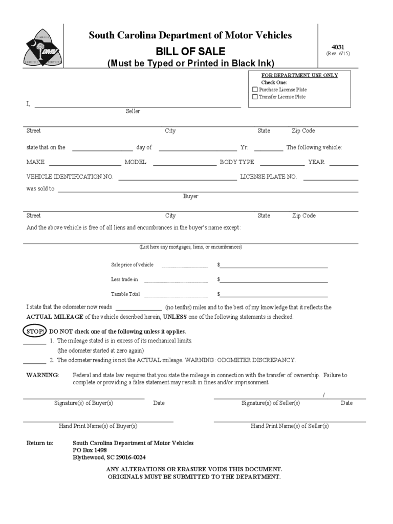 dmv bill of sale form 10 free templates in pdf word
