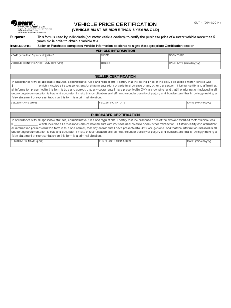 dmv-bill-of-sale-form-virginia-d1 Virginia Firearm Purchase Application Form on ca gun purchase form, gun background check form, gun sale form, gun registration form, motor vehicle purchase form, class 3 weapons transfer form, uniform purchase form, federal firearms application form, gun ownership transfer form, hammer purchase form, food purchase form, car purchase form, weapons purchase form,