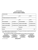 DMV Address Change Form - Alaska Free Download
