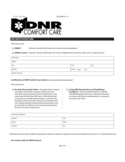 DNR Identification Form - Ohio Free Download