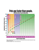 Pet Aging Chart Free Download