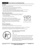 DV-530-INFO How to Enforce Your Restraining Order
