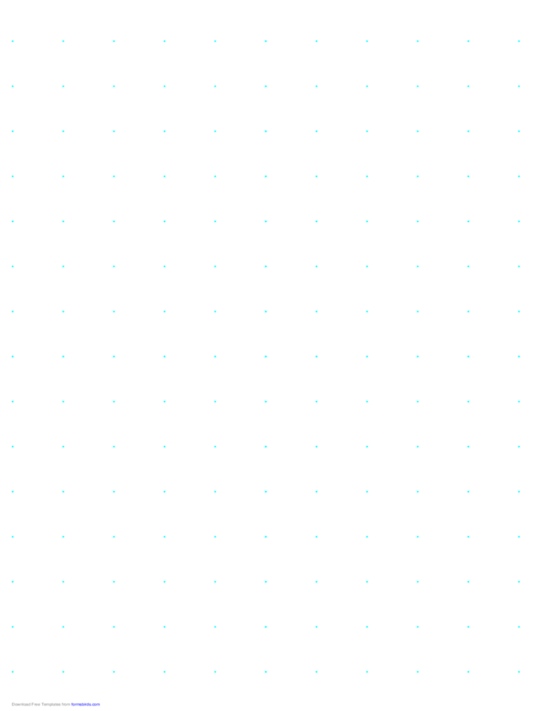 Dot Paper with 20mm Spacing on A4-Sized Paper