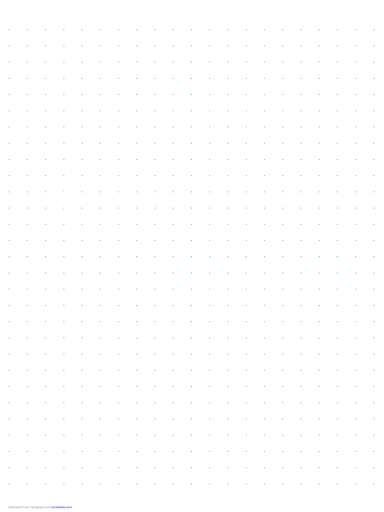 Dot Paper with 10mm Spacing on A4-Sized Paper