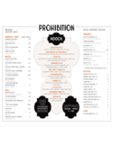 Drink Menu Example Free Download