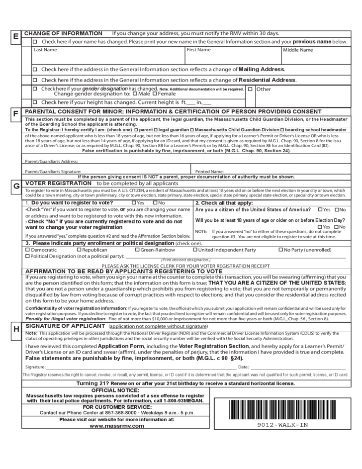 Mass Dept Of Motor Vehicles License Renewal - Vehicle Ideas