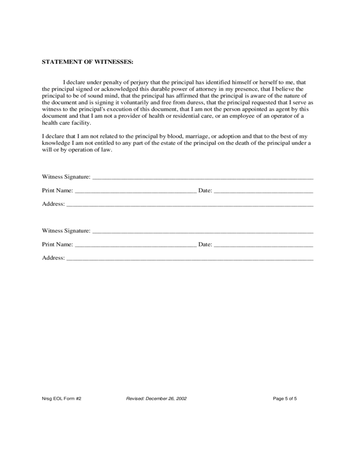 Power Of Attorney Form Tx Image Collections Free Form Design Examples