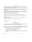 Standard Durable Power of Attorney Form Free Download
