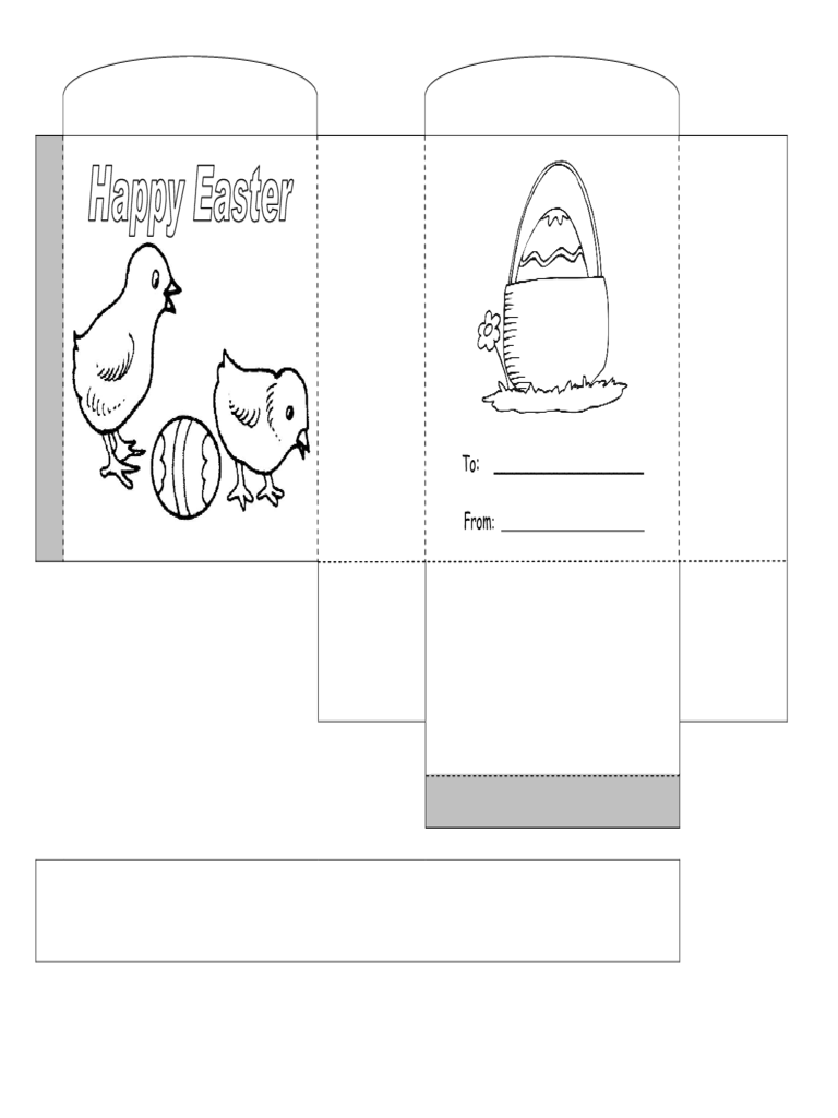 easter egg basket template pdf
