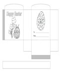 Easter Bunny Basket Template Free Download
