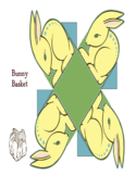 Bunny Basket Yellow Rabbit Free Download