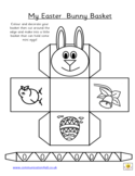 Easter Bunny Basket Free Download