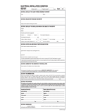 Sample Electrical Installation Condition Report Form Free Download